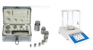 ترازوی آنالیتیکی دیجیتال و وزنه های استاندارد-آنالیوم